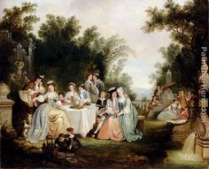 Henry Andrews The Wedding Feast painting | framed paintings for sale