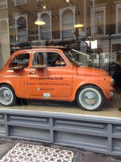 Shop: Arancina pizza shop location: Notting hill  #car