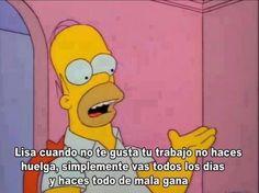 The Simpsons en español