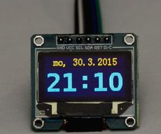 Here is an example how to build Arduino clock which is syncronized with the time of given HTTP server in the net. My plan was to build simplest possible internet...