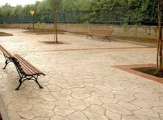 Pavimento Calcestruzzo Stampato : Stonesud s a s pavimenti in calcestruzzo stampato