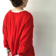 red wool dress, new this season @ #caseycaseyshop (photo by #veritecoeurshop) #caseycasey #6ruedesolferino75007paris