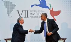 Raul Castro and President Obama - Mandel Ngan/AFP/Getty Images