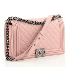 139e5554a Chanel Boy Flap Bag Quilted Lambskin New Medium Chanel Boy