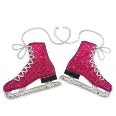 Ice Skates Applique @Mary Powers Powers Powers Jane Dishion naturally.