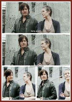 The Walking Dead - Carol and Daryl - Pookie