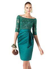 Pronovias apresenta o vestido de festa Romaine da coleção 2014. | Pronovias