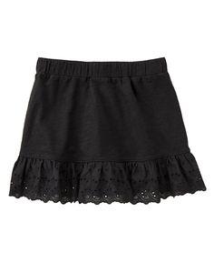 Eyelet Ruffle Skirt at Crazy 8