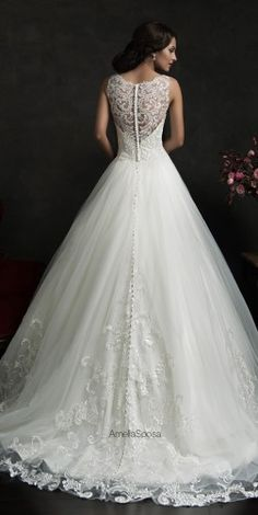 Amelia Sposa 2015 Wedding Dresses - Belle The Magazine love this designer!