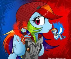 Rainbow Dash-delsin
