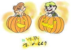 I FINALY GOT THE ART TABLET WORKING I WILL DO MOAR DIGITAL SOON BUT RITE NOW Happy Halloween dudes
