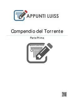 Esplicazione di diritto privato 1 liberamente tratta dal manuale Torrente