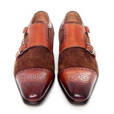 BUFFALO HERREN BUSINESS Schuhe Blucher Leder Grau