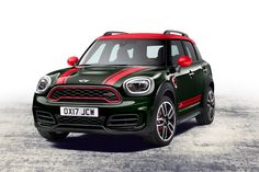 2017 Mini Cooper John Cooper Works. Not sure about the British Racing Green and Red combination