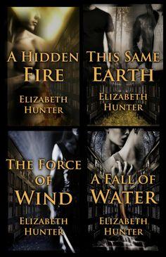 Elemental Mysteries series by Elizabeth Hunter