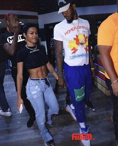 Dope Outfits, Girl Outfits, Black Relationship Goals, Pretty Girl Swag, Cute Couples Goals, Couple Goals, Power Couples, Dear Future Husband, Teyana Taylor