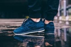 Les sublimes GEL-Lyte III de la collab ASICS Tiger x Reigning Champ BE STREET