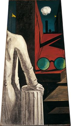 De Chirico, Max Ernst, Magritte and Balthus: A Look Into the Invisible: The Serenity of the Scholar, 1914