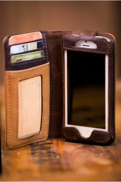 iPhone 5 and 5S Leather Wallet