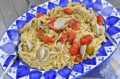 Ciao Chow Linda: From the Grill: Pasta with clams