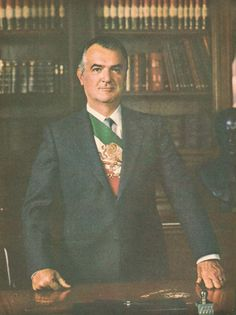 Miguel de la Madrid Hurtado  52nd President of the United Mexican States (1982-1988)