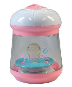 Loving this Hygenie Pink Portable Sanitizer on #zulily! #zulilyfinds