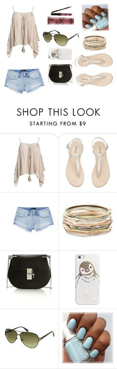 """what do you think"" by jorgbroo on Polyvore featuring Sans Souci, 3x1, Kendra Scott, Chloé, Casetify, Fendi and Kylie Cosmetics"