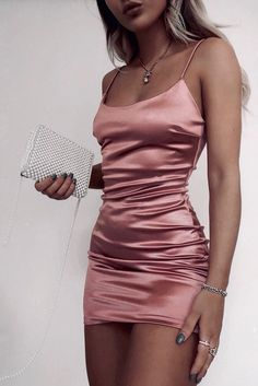 New Arrival Custom Made pink short Evening Dress Prom Dress Party - .,New Arrival Custom Made pink short Evening Dress Prom Dress Party - bodycon dress Women's Shoes Whether . Teen Fashion Outfits, Mode Outfits, Look Fashion, Fashion Ideas, Pink Outfits, Fashion Dresses, Night Club Outfits, Fashion Clothes, Fashion Women