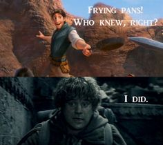 Samwise Gamgee: Making Frying pans a weapon since 2001