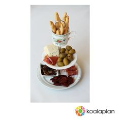 "DIY cake stand using ""round silver"" by www.koalaplan.com"
