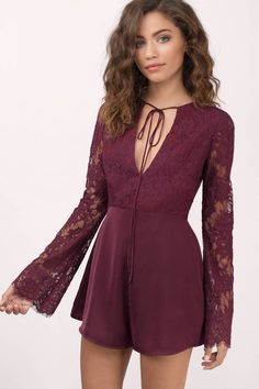 This wine romper will be the perfect outfit for your upcoming Christmas party and you know it.