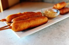 Corn Dogs and fried cheese!