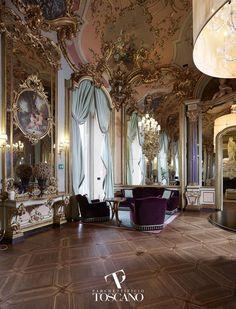 Solid parquet flooring / glued / walnut / oak LAVORAZIONE STORICA (086) Parchettificio Toscano Srl