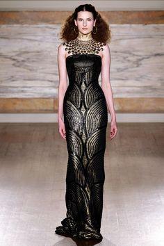 WOW! frostedfashions  L Wren Scott Fall 2013 - OMG that dress! Moda 86dd69d8203