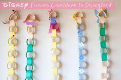 Disneyland Countdown with the Disney Princesses!