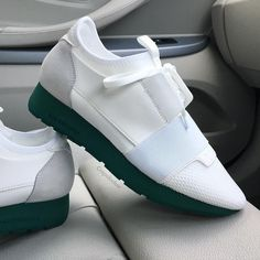 A closer look at the popular Balenciaga Runner as we here at @crepslocker have named them the  'The Notorious Mac Runner'  All sizes available ✅✅ Email   hello@crepslocker.com Whatsapp   +447507357463 Snapchat   CREPS_LOCKER SALE   RESTOCKS PAGE - @teamcrepslocker Balenciaga Runners, Balenciaga Shoes, Sports Shoes, White Sneakers, Shoes Sneakers, Shoes World, Fresh Kicks, Casual Shoes, Shoe Closet