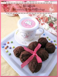 Recipe Low Carb Chocolate Almond Cookies by Cooking-Gallery
