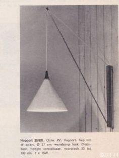 Hagoort hengellamp '60s - Ztijl