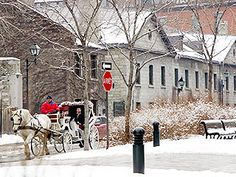 Historic City Center: Old Montreal