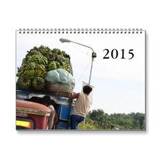 Philippines 2015 wall calendar. Twelve great photos of a tropical paradise by photographer Henk van Kampen.