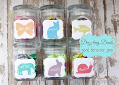 """A """"dazzling deed"""" is something that is spectacular, I mean a super-duper spectacular behavior! And these jars are what is working for us!"""