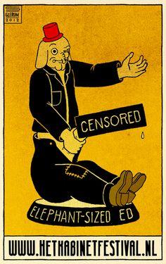 """Stefan Glerum's Lentekabinet Poster - letter """"E"""""""