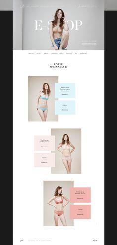 Ysé - Website on Behance                                                                                                                                                                                 More