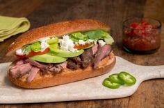 Mexican Roast Beef Torta | Columbus Foods