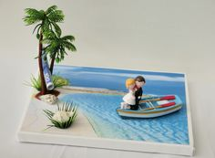 money gift wedding honeymoon holiday delivery: 1 x stretcher 24 cm x 18 cm with holiday picture pasted 1 x newlyweds standing on a Honeymoon Night, Honeymoon Cruise, Wedding Towel Cakes, Money Bouquet, Holiday Money, Wedding Honeymoons, Art N Craft, Holiday Pictures, Fairy Land