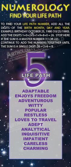 Numerology: Life Path #5
