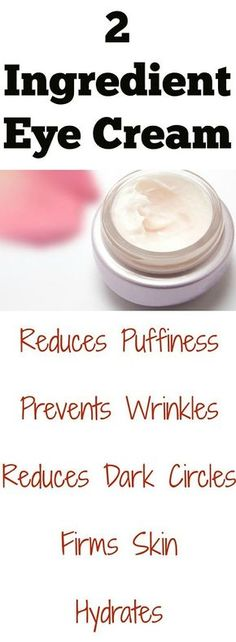 Stop wasting your hard earned cash on expensive eye creams when you can easily make your own with …