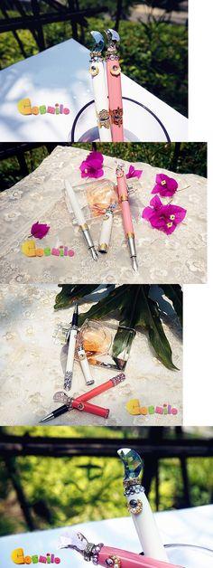 Clothing 168139: Handmade Sailor Moon Princess Serenity Miracle Fountain Pen Ballpoint Pen Sa BUY IT NOW ONLY: $34.99