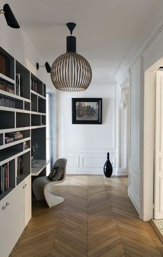 home office in hallway landing. home decor and interior decorating ideas. Appartment Decor, Interior Design, House Interior, Furniture, Home, Home Deco, Home Office Decor, Home Decor, Office Design