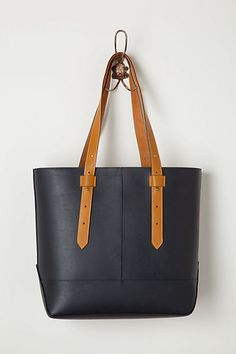 One of my weaknesses is a gorgeous black leather tote. Nice price, too!
